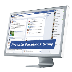 Private Facebook group