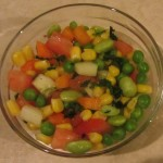 Vegetable-Peas Salad
