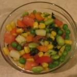 Vegetable-Peas Salad