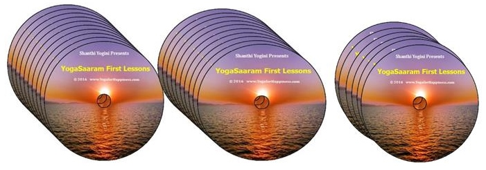 YogaSaaram First lessons 26 Video Disc