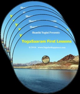 YogaSaaram First lessons 6 Audio Disc