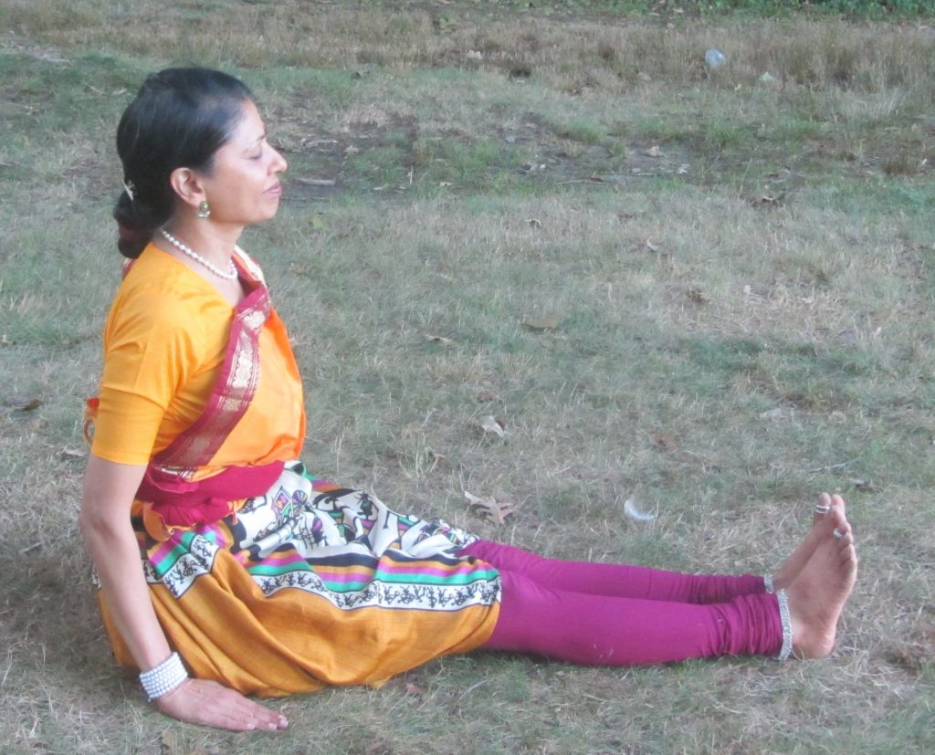 Starting position for Sitting Postures